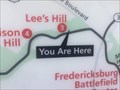 Image for YOU ARE HERE - The Confederate Line - Fredericksburg, VA