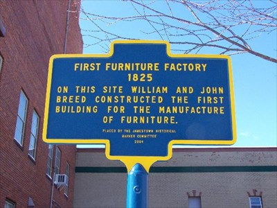 First Furniture Factory   Jamestown, New York   First Of Its Kind On  Waymarking.com