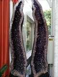 Image for Unique Amethyst Twin Pair - Stein, Germany, BY