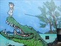 Image for The Girl and the Croc - Maryborough, Qld, Australia