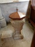 Image for fond baptismal Eglise Saint Christophe - Longeves, France