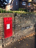 Image for Victorian Wall Post Box in Worthing, West Sussex