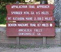 Image for AT Approach/Benton MacKaye Trailhead -- Amicalola Falls State Park-- Dawsonville GA