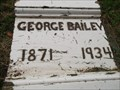 Image for George Bailey - Cold Spring Cemetery - Veedersburg, IN