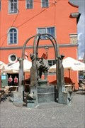 Image for Marktbrunnen/Market fountain in Nördlingen, Bayern/Bavaria