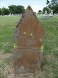 Image for W.H. Hooper - Old Hall Cemetery - Lewisville, TX