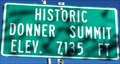 Image for Historic Donner Summit - Elevation 7135 feet
