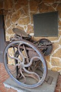 Image for 1800s Printing Press -- Stone Fort Museum, Stephen F. Austin State University, Nacogdoches TX