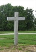 Image for Stainless Steel Cross - Faith Lutheran Church - Washington, MO
