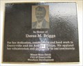 Image for Doras M Briggs Plaque - Emeryville, CA