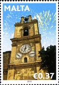 Image for St. John's Co-Cathedral Bell and Clock Tower - Valletta, Malta