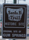 Image for Santa Fe Trail, Site of Gum Springs - W 59th St at Nieman Rd, Shawnee KS