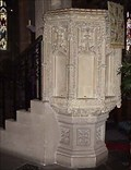 Image for Tavistock Church Pulpit, West Devon, UK.