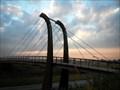 Image for Bicycle bridge Westerbaan - Katwijk, Netherlands