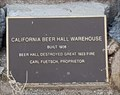 Image for California Beer Hall Warehouse - Goldfield, NV