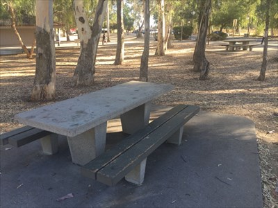 Picnic Tables, Yolo County, California