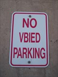 Image for NO VBIED PARKING - Baghdad, Iraq