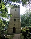 Image for The Church of St illtyd - Bell Tower - Oxwich, Gower, Wales
