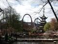 Image for Dæmonen Roller Coaster in Tivoli - Copenhagen - Denmark