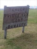Image for Danger Bridge Has Bomb Damage
