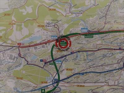 station maps czech republic