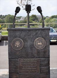 The John F. Kennedy - Podium - New Ross
