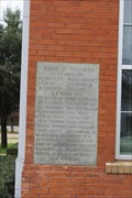 Image for 1924 - Lancaster High School Cornerstone  - Lancaster TX