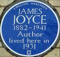 Image for James Joyce - Campden Grove, London, UK