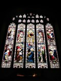 Image for Christ And Saints, St Mary's Church, Chirk, Wrexham, Wales, UK