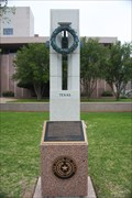 Image for National WWII Memorial Texas Pillar -- State Capitol Grounds, Austin TX