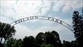 Image for Polson Park Entrance Arch - Vernon, BCA
