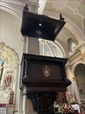 Image for Pulpit - Five Wounds Portuguese National Church - San Jose, CA, USA