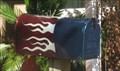 Image for Blue flame mailbox - Santa Clara, CA
