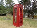 Image for Red Telephone Box - Piccadilly Motel - Radium Hot Springs, BC, Canada