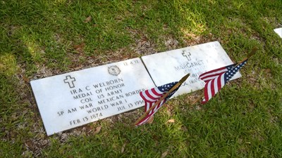 Visited on Memorial Day 2014