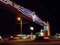 Image for Freestanding - Neon 66 Arch - Albuquerque, New Mexico, USA.[