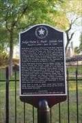 Image for Judge Paine Bush -- Salado TX