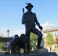 Image for Prospector and his dog - Whitehorse, Yukon Territory