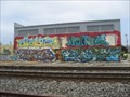 Image for Graffiti along the Railroad - Berkeley, California