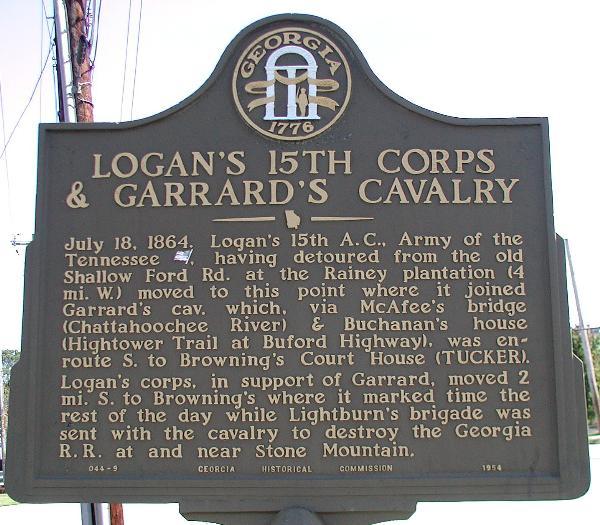 Logan's 15th Corps & Garrard's Cavalry