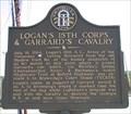 Image for Logan's 15th Corps & Garrard's Cavalry - GHM 044-9 - DeKalb Co., GA