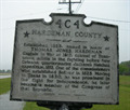 Image for Hardeman County / Fayette County Marker