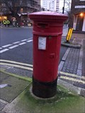 Image for Victorian Pillar Box - Waterford Road - Fulham - SW London, UK