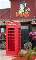 Image for Red Telephone Box - Orangeville, Ontario, Canada