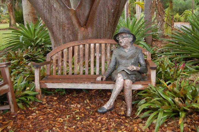 Sit By Me Marjory Stoneman Douglas Fairchild Tropical