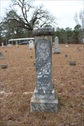 Image for J. C. Dickinson -- Cove Springs Cemetery, Nacogdoches Co. TX