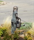 Image for Girl with watering can (fountain) - Stillwater, OK