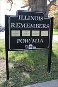 Image for Rail Splitter Rest Area (SB I-55) POW/MIA Memorial - Sherman, IL