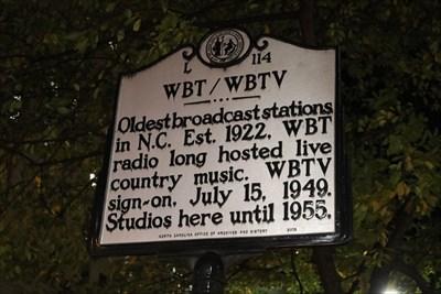 L-114 WBT/WBTV -- Charlotte NC - North Carolina Historical