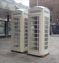 Image for A Pair Of Hull Style Cream Telephone Boxes - Kingston-upon-Hull, UK